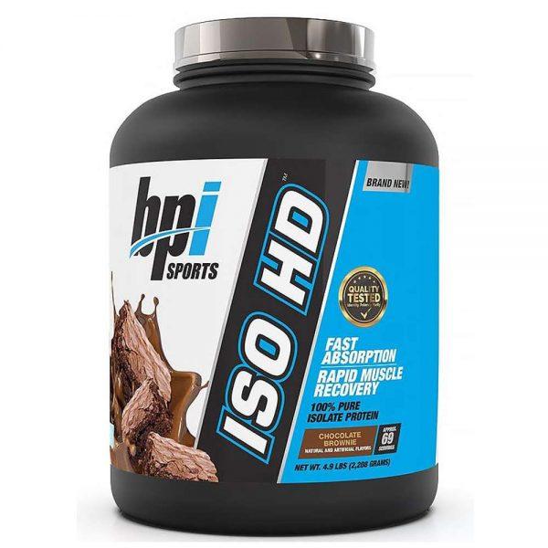 Whey BPI ISO HD là sản phẩm 100% Whey Isolate hỗ trợ phục hồi, phát triển cơ bắp hiệu quả. Cam kết nhập khẩu chính hãng uy tín và giá rẻ nhất tại Hà Nội, TpHCM