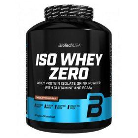 BioTechUSA ISO Whey ZERO được chiết lọc tinh chất từ whey protein (WPI) tinh khiết nhất, với thành phần độc đáo ZERO lactose, ZERO trans fat và ZERO cholesterol, phát triển cơ bắp vượt trội.