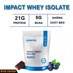 IMPACT WHEY ISOLATE 1KG
