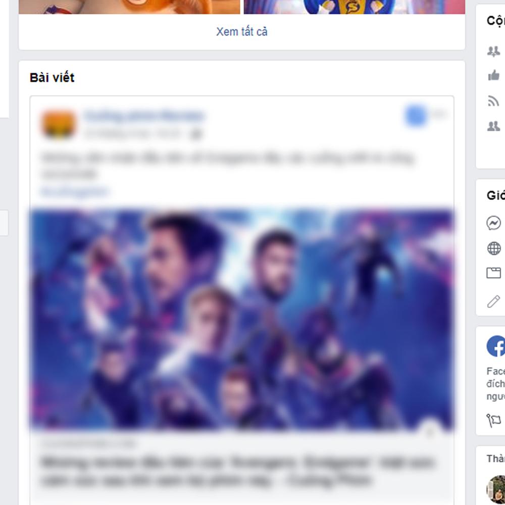 """Ngăn chặn nạn """" Spoiler Endgame """" trên Facebook vô cùng đơn giản 3"""