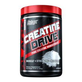 Nutrex Creatine Drive 300g là sản phẩm bổ sung 100% Creatine hỗ trợ tăng sức mạnh, sức bền và cơ bắp. Nutrex Creatine Drive 300g nhập khẩu chính hãng, cam kết chất lượng, giá rẻ nhất tại Hà Nội & Tp.HCM.