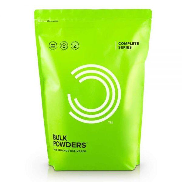 Sữa tăng cân tăng cơ Bulk Powders Complete Mass 5kg cung cấp 40g protein chất lượng cao. Sữa bột Complete Mass cung cấp tới 538kcal/liều dùng, đảm bảo tăng cân dễ dàng