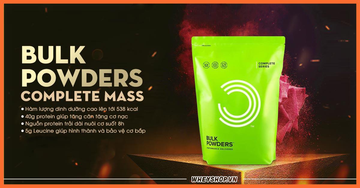 Cach su dung bulk powders complete mass hieu qua nhat
