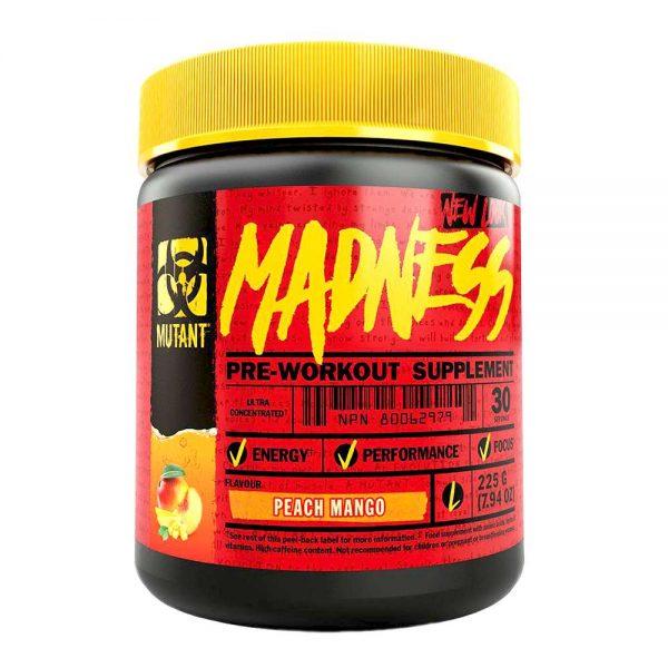 Mutant Madness là sản phẩm tăng sức mạnh, sức bền, giảm mệt mỏi hiệu quả. Mutant Madness được nhập khẩu chính hãng, cam kết chất lượng, giá rẻ nhất tại Hà Nội & Tp.HCM.
