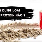 Nen Su dung loai Whey Protein nao