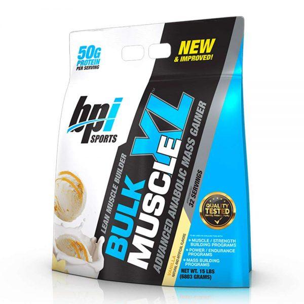 BPI Bulk Muscle XL 15lbs tăng cân tăng cơ nhanh giá rẻ tốt nhất của hãng BPI hiện nay . BPI Bulk Muscle XL được nhập khâu phân phối bới wheyshop.vn.