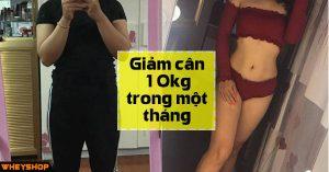 Giam can 10kg trong mot thang WheyShopVN