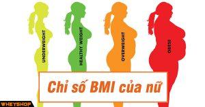 Chi so BMI cua Nu WHEYSHOP