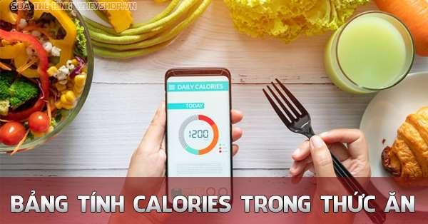 calories la gi bang tinh calories trong cac thuc an hang ngay 600x314