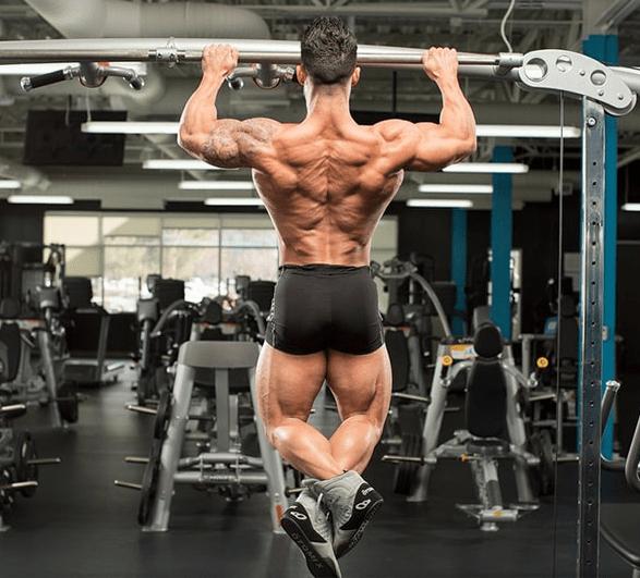 tập cơ lưng xô nâng cao 1