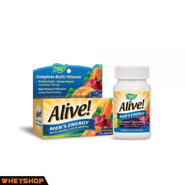 alive men's energy vitamin tong hop gia re chinh hang wheyshop