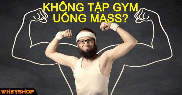 khong tap gym uong mass duoc khong compressed