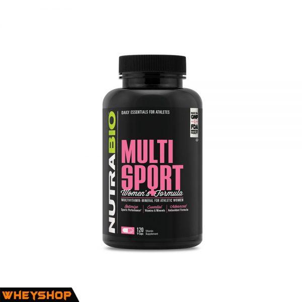 nutrabio mutil sport for women vitamin tong hop danh cho nu gia re chinh hang wheyshop