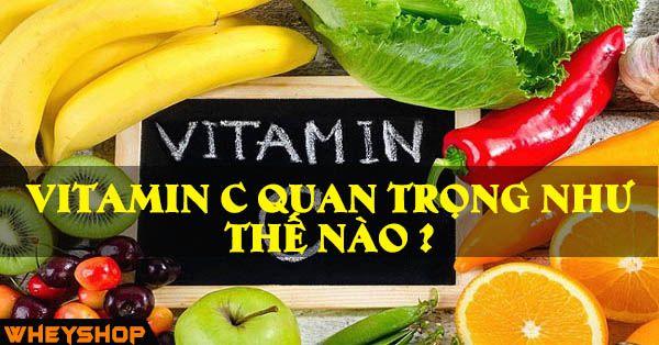 tam quan trong cua vitamin c trong doi song hang ngay