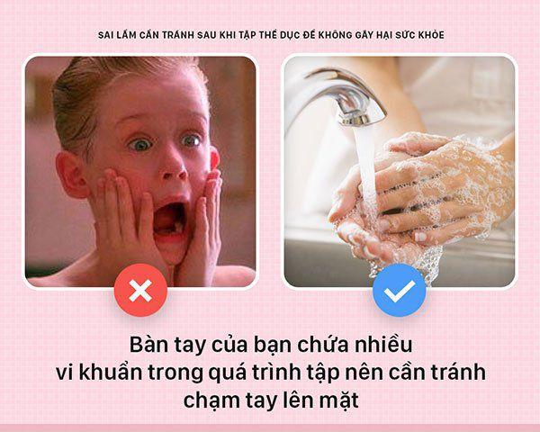 5 dieu khong nen lam sau khi tap gym wheyshop vn