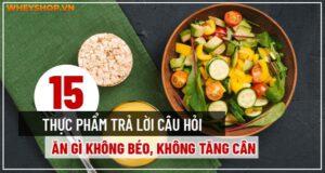 Ăn gì không béo? Ăn gì không gây tăng cân? Cùng WheyShop tham khảo top 15 thực phẩm ăn bao nhiêu cũng không tăng cân qua bài...