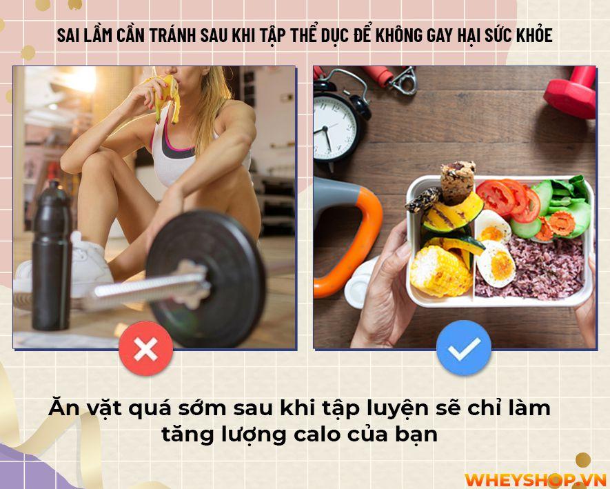 Liệu bạn đã bao giờ tự hỏi mình rằng sau khi tập gym không nên làm gì? Cùng WheyShop tìm hiểu 17 điều cấm kị không nên làm sau khi tập gym...