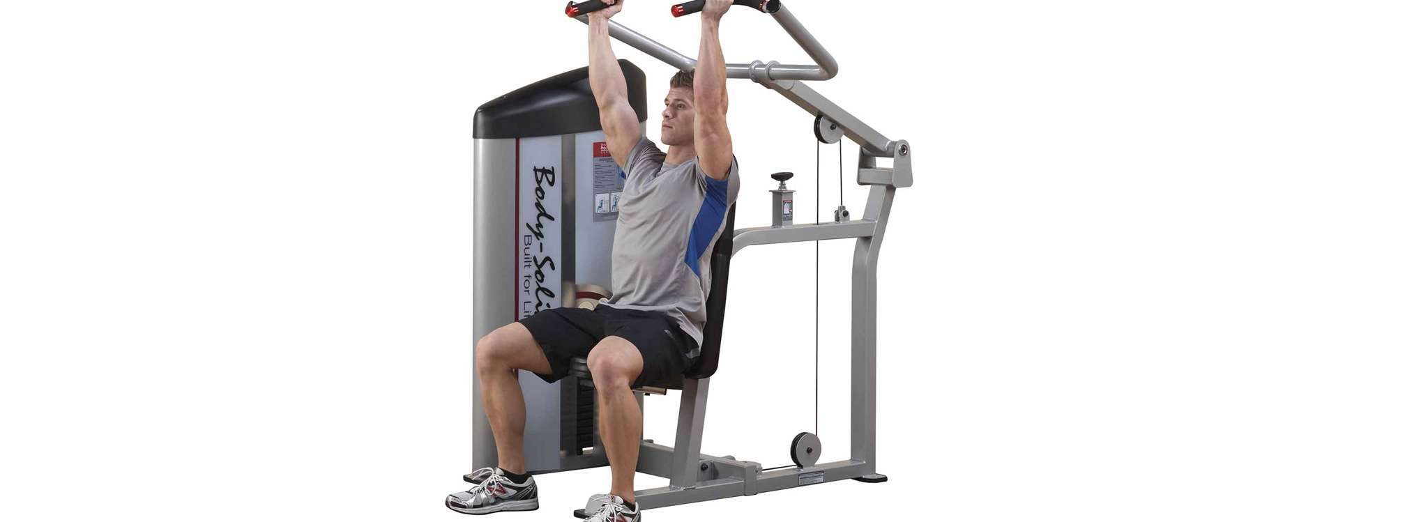 30 bai tap co vai truoc va tap co vai sau tot nhat moi thoi dai Machine Shoulder Press