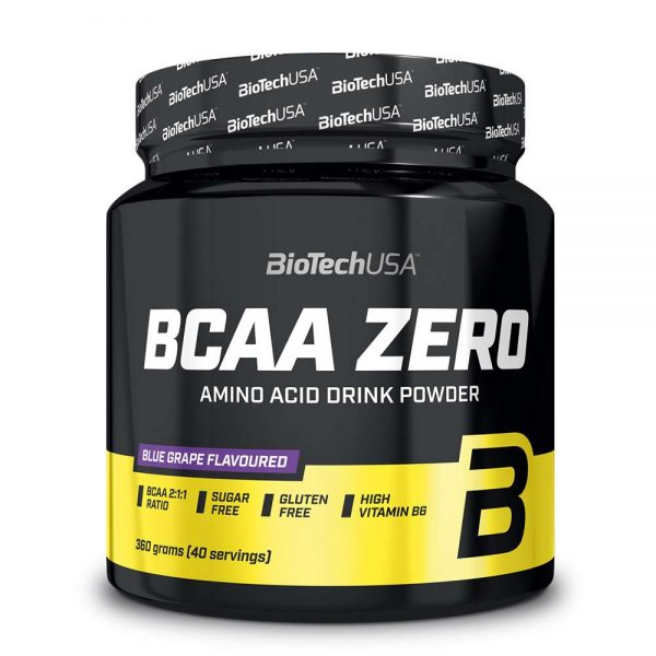 Biotech BCAA Zero 40 servings hỗ trợ phục hồi cơ bắp, chống dị hóa cơ bắp hiệu quả, giá rẻ. Biotech BCAA Zero 40 servings nhập khẩu chính hãng, cam kết chất lượng, giá rẻ nhất tại Hà Nội & Tp.HCM.