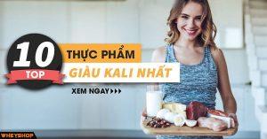 Top 10 thực phẩm giàu kali cho người tập thể hình 6