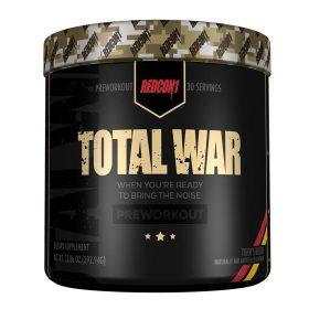 Pre-Workout Total War tăng sức mạnh, sức bền hiệu quả, mang tới nguồn năng lượng vượt trội hơn. Pre-Workout Total War nhập khẩu chính hãng, cam kết chất lượng, giá rẻ nhất tại Hà Nội & Tp.HCM.