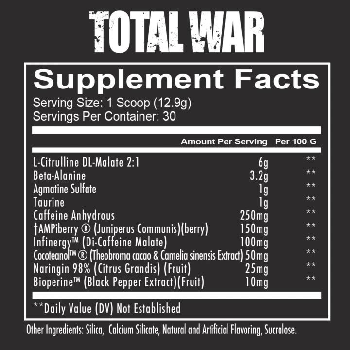 total war WHEYSHOP