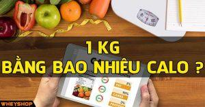 1kg bang bao nhieu calo wheyshop vn