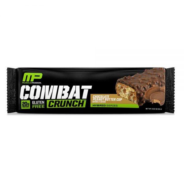 Combat Crunch là thanh Protein nướng được hãng MusclePharm sản xuất bằng một quy trình nướng độc quyền tạo nên hương vị mới lạ