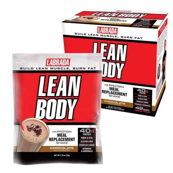 Lean Body MRP 80 gói là sản phẩm cung cấp dinh dưỡng thay thế bữa ăn phụ thông minh, hỗ trợ tăng cơ giảm mỡ của hãng Labrada, giá rẻ Hà Nội , TpHCM...