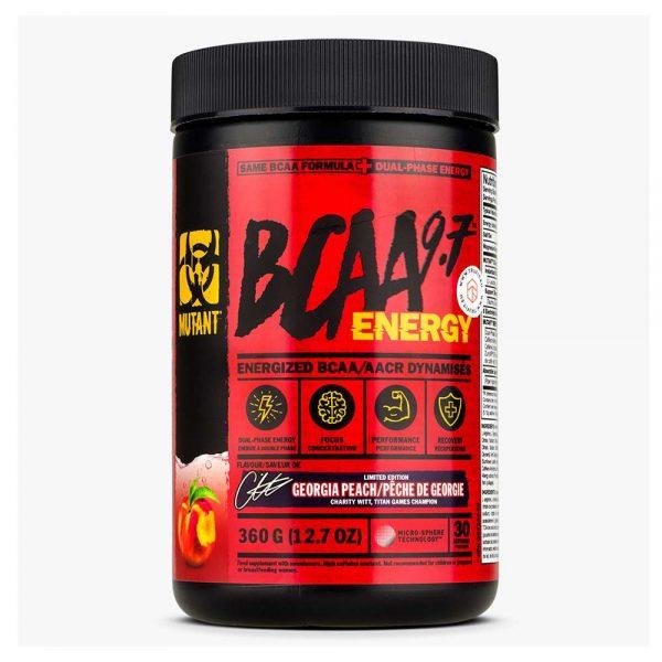 Mutant BCAA Energy là sản phẩm hỗ trợ phục hồi và phát triển cơ bắp kết hợp cùng caffeine tăng tỉnh táo, tập trung. Mutant BCAA Energy chính hãng, giá rẻ