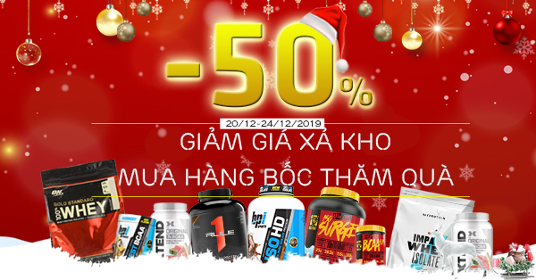 event giang sinh wheyshop