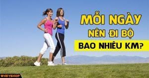 Mỗi ngày nên đi bộ bao nhiêu km là tốt nhất 9