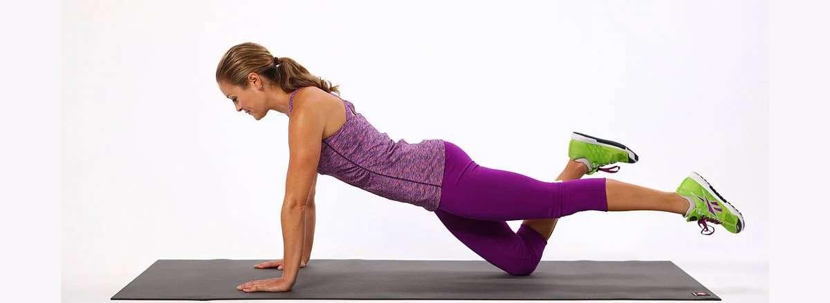 30 bai tap workout tai nha giam can hieu qua One Legged Push Up