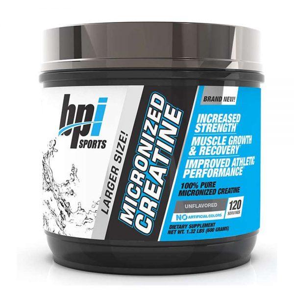 BPI Micronized Creatine bổ sung Creatine tinh khiết, hỗ trợ xây dựng cơ bắp, tăng cơ bắp, tăng sức mạnh chính hãng giá rẻ nhất hiện nay chỉ . BPI Micronized Creatine nhập khẩu chính hãng, cam kết chất lượng, giá rẻ nhất tại Hà Nội & Tp.HCM.