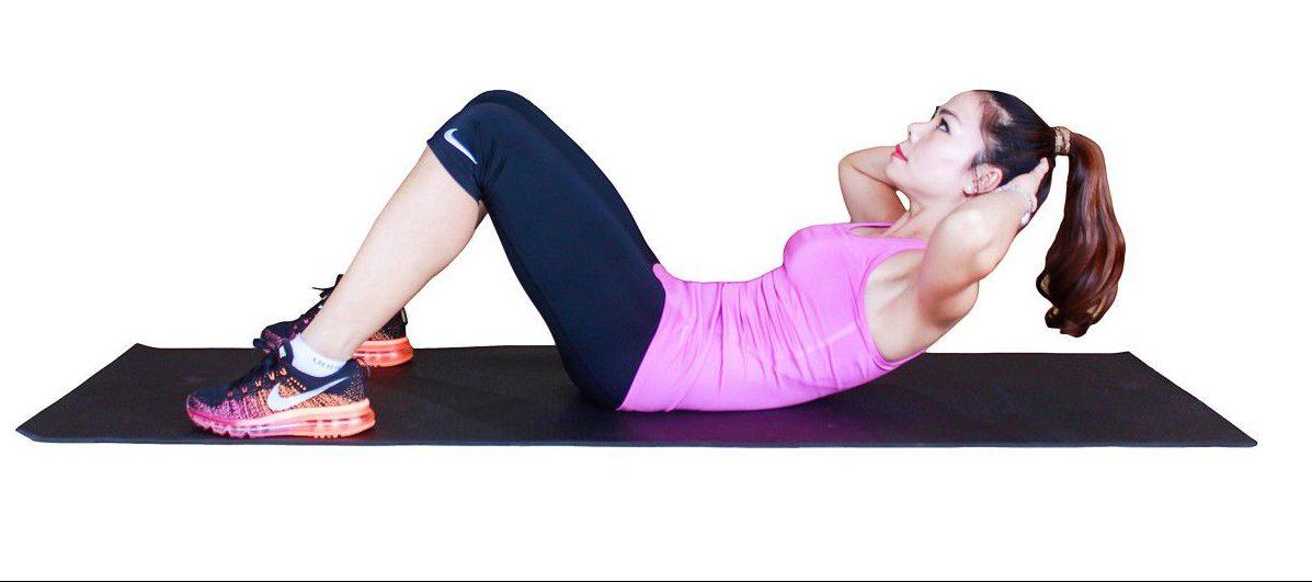 12 bài tập giảm mỡ bụng sau sinh giúp lấy lại dáng nhanh chóng 2