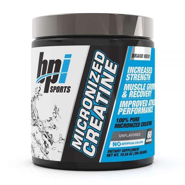 BPI Creatine 60 servings hỗ trợ tăng cường sức mạnh, sức bền hiệu quả, giá rẻ. BPI Creatine 60 servings được nhập khẩu chính hãng, cam kết chất lượng, giá rẻ tốt nhất Hà Nội & Tp.HCM