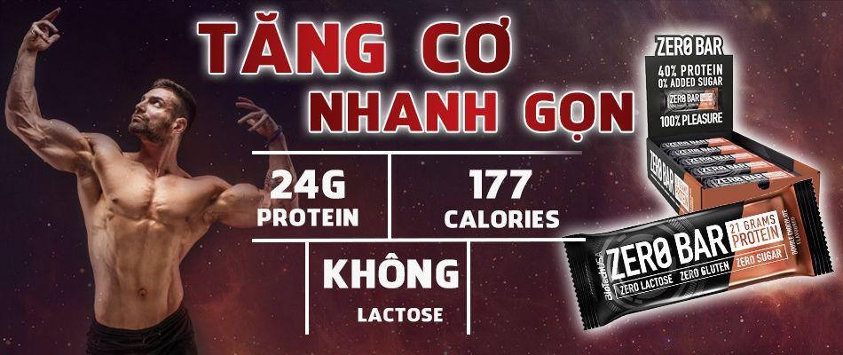 Biotech Zero Bar thay the bua an phu tang co giam mo wheyshop vn