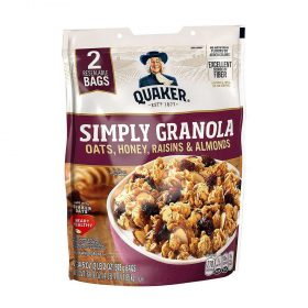Yến mạch ngũ cốc ăn liền Granola thay thế bữa ăn phụ lành mạnh, hỗ trợ giảm cân hiệu quả. Yến mạch Granola nhập khẩu chính hãng Mỹ, giá rẻ tốt nhất Hà Nội TpHCM