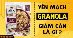 Yến mạch ngũ cốc ăn liền Granola giảm cân là gì ? 5