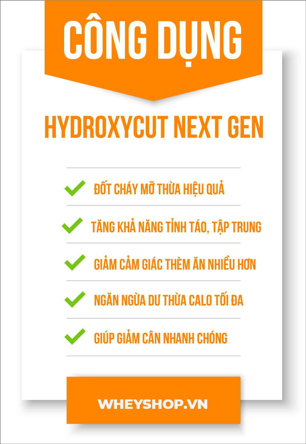 Review đánh giá Hydroxycut Next Gen có tốt không ? Thành phần, lợi ích, tác dụng phụ và cách sử dụng Hydroxycut Next gen hiệu quả