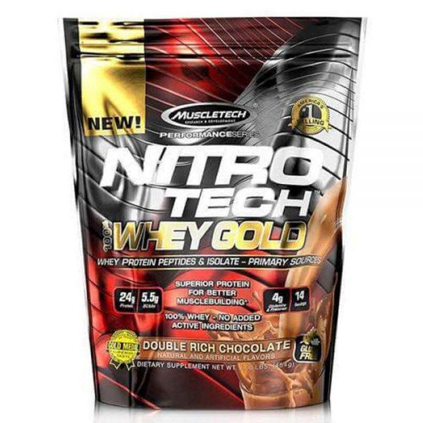 Nitro Tech Whey Gold 8lbs là một sản phẩm Protein chất lượng cao cấp nhất với nguồn protein phức hợp giúp phát triển cơ bắp hiệu quả, giá rẻ.