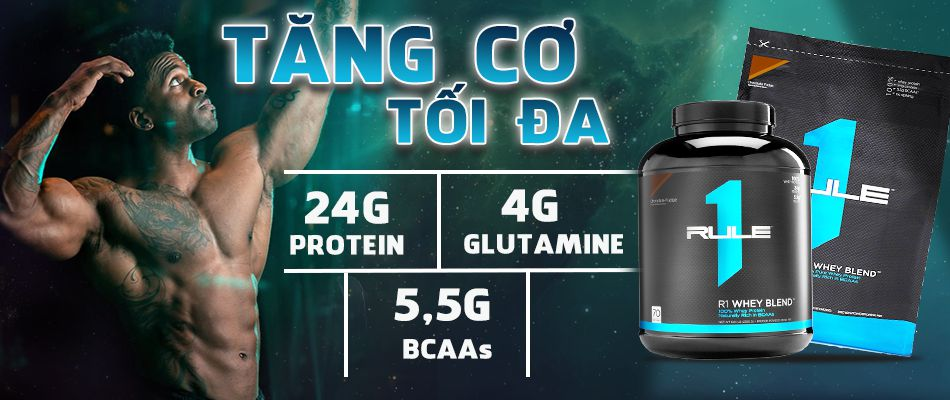 Rule 1 whey blend 10lbs rule 1 blend danh gia rule 1 blend chinh hang gia re ha noi tp hcm