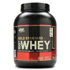Whey Gold Standard 100% là sản phẩm Whey tăng cơ với hơn 30 năm uy tín thương hiệu hàng đầu thế giới,cam kết chính hãng, chất lượng và giá rẻ nhất Hà Nội, TpHCM
