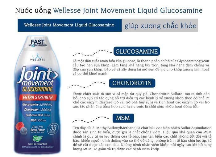 glucosamine dạng nước là gì