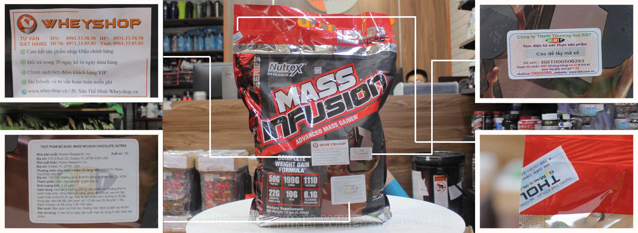 nutrex mass infusion tem nhan hieu chinh hang tai wheyshop