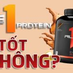 review danh gia whey rule 1 protein wheyshop vn