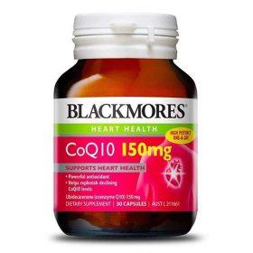 """Viên uống bổ tim mạch Blackmores CoQ10 150 mg chống lại quá trình oxy hóa của LDL-cholesterol (cholesterol """"xấu"""") và góp phần ngăn ngừa ung thư."""