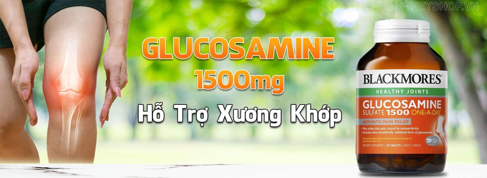 Blackmores Glucosamine 1500mg gia re ha noi tphcm