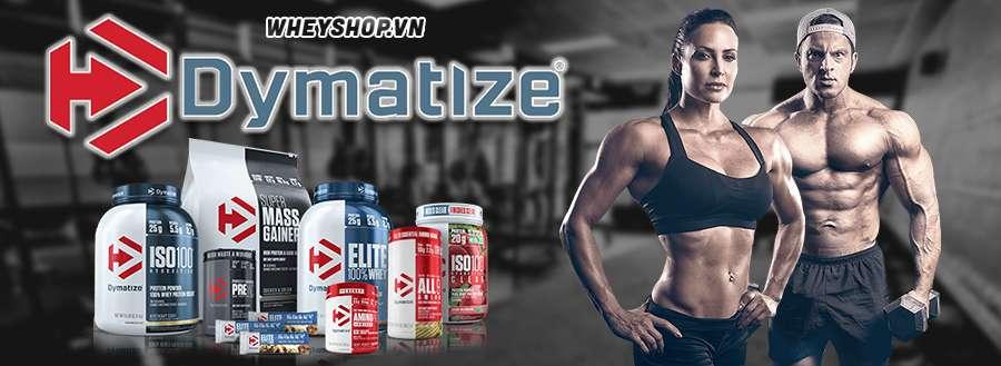 Wheyshop chuyên phần phối các sản phẩm của hãng Dymatize hỗ trợ tăng cân , tăng cơ , giảm mỡ . Nhập khẩu chính hãng Dymatize us
