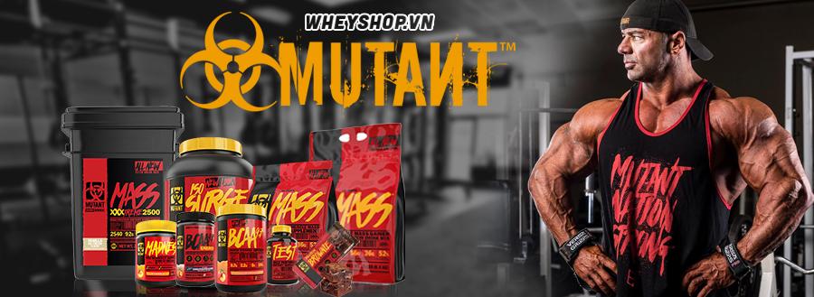 Mutant supplements là thương hiệu nổi tiếng của Canada . Mutant thực phẩm thể hình hỗ trợ tăng cân , tăng cơ được nhập khẩu chính hãng tại hà nội và tphcm